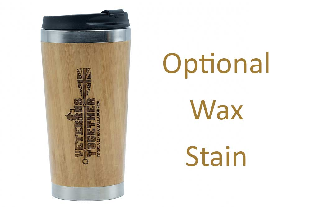 Veterans Together Travel Mug waxed
