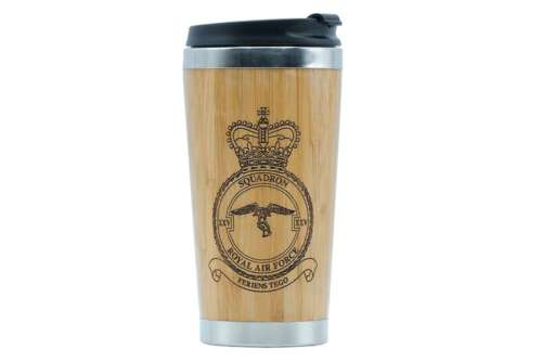 25 (F) Sqn RAF travel mug