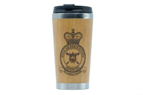 RAF Station Honington travel mug - Support UK vets