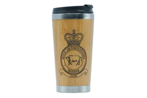 RAF Station Marham travel mug - Support UK vets
