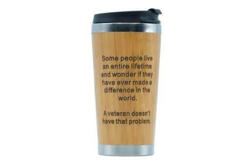 Veterans Not Have Problem - travel mug