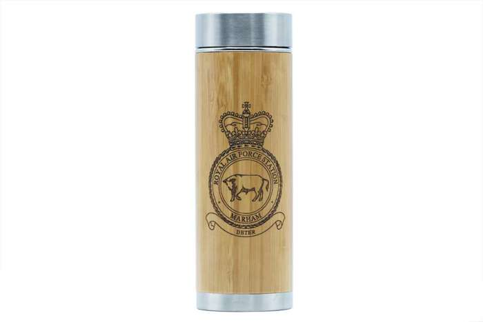 RAF Station Marham thermos flask - Support UK vets