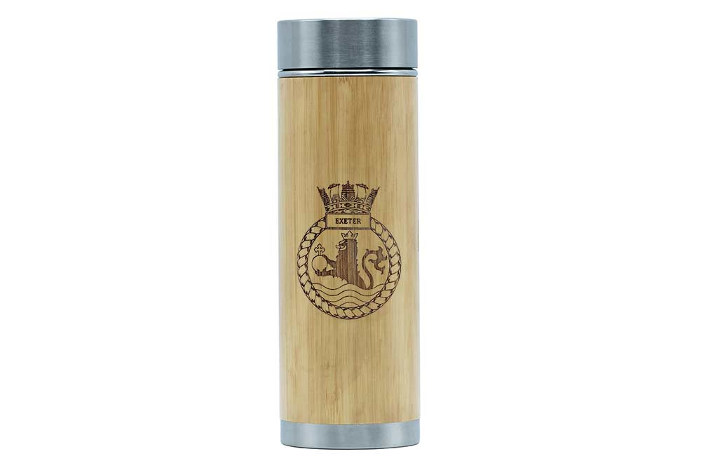 HMS Exeter thermos flask